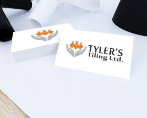 Tyler's Tiling Logo Design